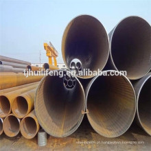 DSAW / LSAW Tubo de aço API5L Pipe 100% UT