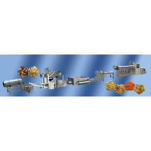 pellet/chips/extruder frying food processing line