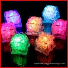12шт светодиодные кубики льда многоцветный Ассорти прохладный холодные напитки бар многоразовые