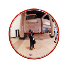 cheap price 80cm indoor 2.0mm acrylic large angle traffic safety convex mirror, road convex mirror/