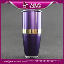 SRS suministro vacío 15ml 30ml 50ml 80ml 120ml arcylic plástico champú botella de embalaje