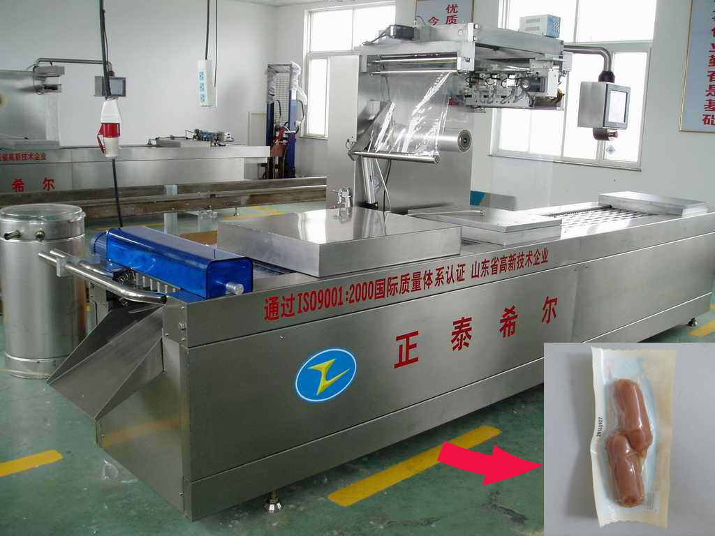 Multifunctional automatic Siemens PLC sausage vacuum packing machine