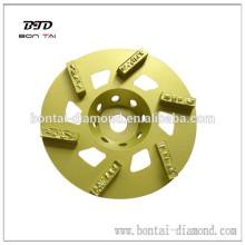 Disco de trituración TGPdiamond para la eliminación expoxy
