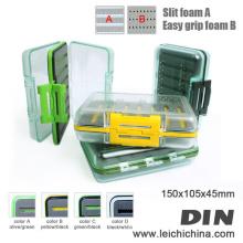 Venda Por Atacado Waterproof Plastic Foam-Inside Fly Fishing Box