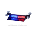 Car auto flashing led lights Visor LED Warning Light Blue SL681-V