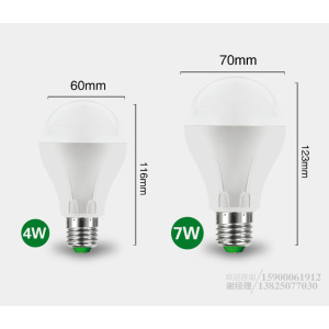 Lampadina ultra luminosa del sensore di movimento E27