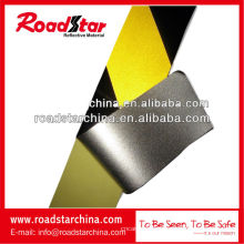 Absperrband gelb schwarz Sicherheit Barrikade