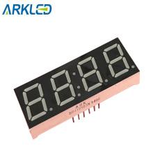 0,56-дюймовый 4-разрядный 7-сегментный светодиодный дисплей разного цвета