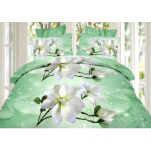 China 3D Reactive Impreso King Size Comforter Bedding Set