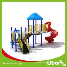 China Outdoor Spielplatz Typ und internationale Standard Stahl Stücke Material Outdoor Spielgeräte