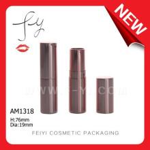 Rodada de batom pequeno de alumínio Cosmetic Packaging barato
