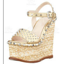 Mode Frauen Kleid Schuhe Keil Damen Sandalen (Hs13-111)