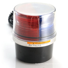 LED Super Flux Multi Color Bright Warning Light Beacon (HL-211 RED&BLUE)