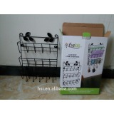 The three layer frame wire basket wire letter letter rack