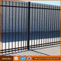 Panneaux de clôture revêtus de poudre et de clôture métallique