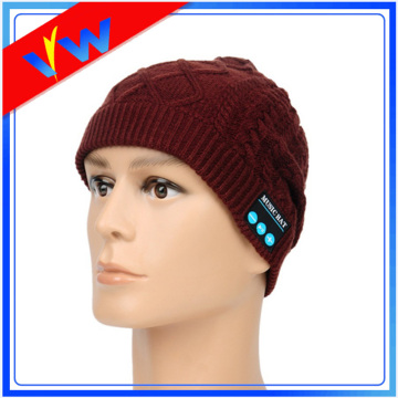 Wholesale Acrylic Bluetooth Beanie Hat