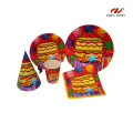 High Quality Paper Party Tableware Set