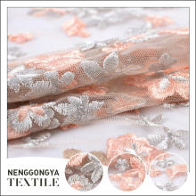 Top quality Different kinds of Poly decorative embroidery curtain fabric