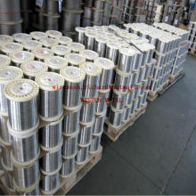0.9-0.6, 0.8-0.6, Q195, SAE1006 Galvanisierter flacher Heftdraht in China