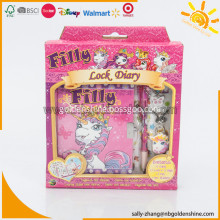 Filly Diary With Lock Set
