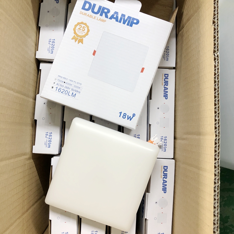 square panel light package