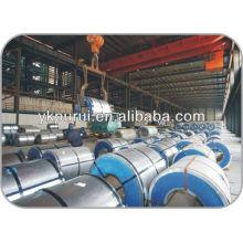 Matériaux de construction ou feuilles d'acier coloré
