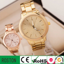 Fashion Women Stainless Steel Analogue Quartz Girl Wrist Watch