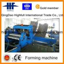 Silos de armazenamento de grãos de aço galvanizado fazendo máquina