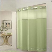 Sterne Hotel hookless Duschvorhang in weißer Farbe