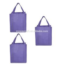 Novo saco de compras grande não tecido de saco reusável