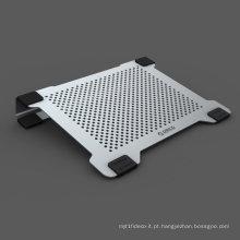 Dual ventiladores de alumínio 14inch laptop arrefecimento