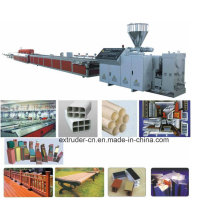 PP PE PVC Profile Extrusion Line/PP PVC Profile Making Machine