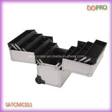 Caisse de chariot en aluminium de clou de grande taille de huit plateaux (SATCMC011)