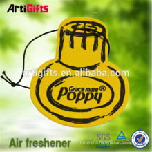 China factory cheap absorbent best selling coffee scented paper air freshener