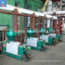 20T/D China Sunflower Oil Making Machine with high oil yield