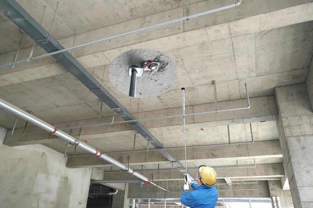 Ceiling Fastening Tool Ns C02 Jobsite