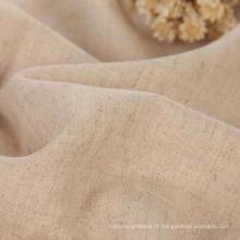 100% Tissu en lin, linge de lin en lin Tissu en lin en tissu lisse