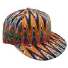 Бейсбольная шапка Snapback из цветочной ткани Sb1579
