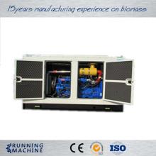 Silent gas powered generator
