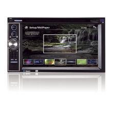 6.2 Inch Fully Touch  Digital Screen Universal Multimedia Autoradio Gps 2 Din S-dvd6819gd