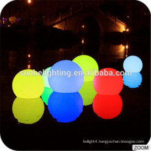 Christmas Color Change LED Ball Plastic Material Outdoor Decoration Waterproof Led Solar Ball Light/Party & Events Furniture