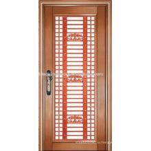 Роскошные медные двери Вилла двери наружные двери однодверных KK-723
