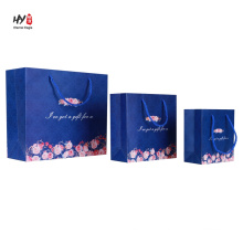 Heat sale exquisite reusable paper packaging bag