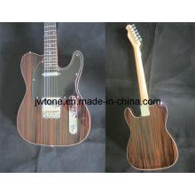 Jw-T109 Rosewood Veneer Wood Tele Electric Guitar