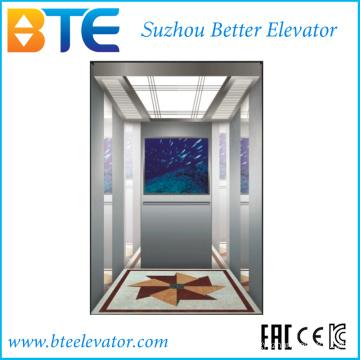 Ce Низкошумный безопасный пассажирский лифт без машинного отделения