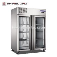 FRCF-6-1 FURNOTEL 2 Glass Doors Refrigerator and Freezer 1350 L Capacity