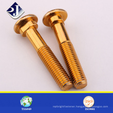 Excellent Quality Yellow Track Bolt