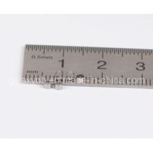 Tubes de précision micro sans couture d'acier inoxydable T0.06L1.5