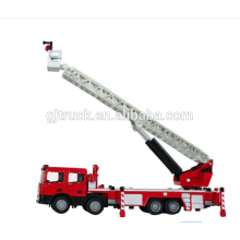 camión de bomberos de escalera / camión de bomberos / Camión de bomberos de escalera / plataforma aérea / camión de bomberos de escalera hidráulica para emergencias