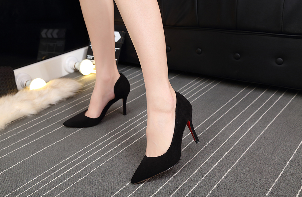 2019 Black High Heel Shoes